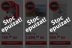 Stoc epuizat Black Friday