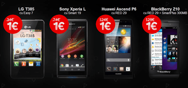 Telefoane Vodafone Black Friday 2013