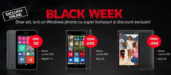 Black Week 2014 Vodafone