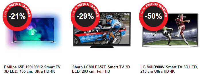 Televizoare Flanco Black Friday 2014