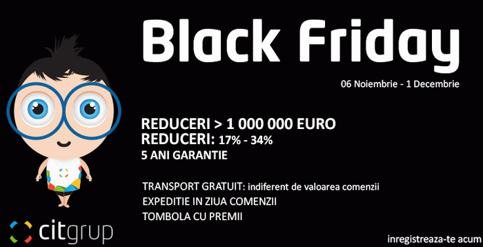 Beneficii CIT Grup Black Friday 2015
