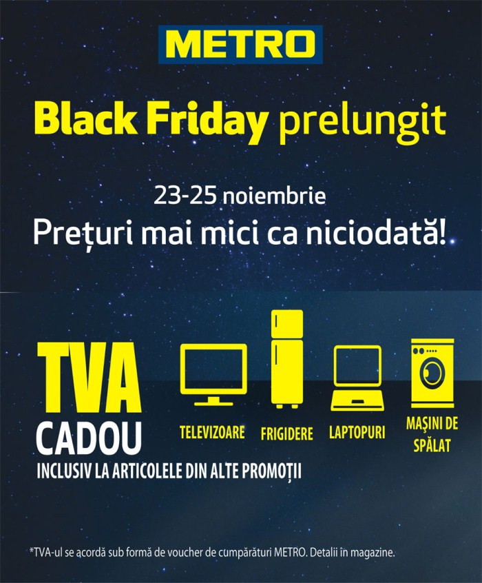 Black Friday 2012 la Metro