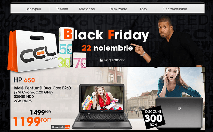 Black Friday 2013 CEL.ro