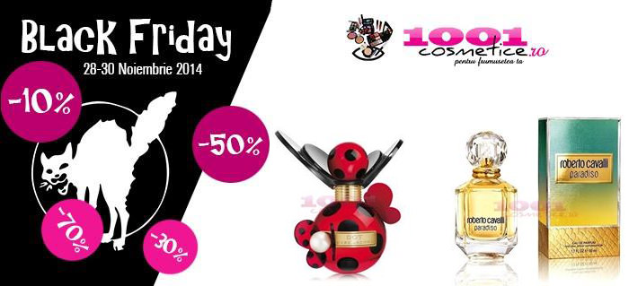 Black Friday 2014 1001 Cosmetice