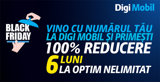 Black Friday 2014 la Digi Mobil