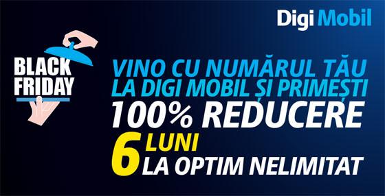 Black Friday 2014 la Digi Mobil