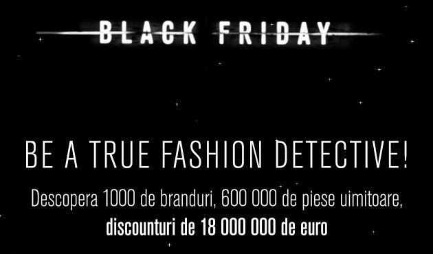 Black Friday 2015 la Fashion Days