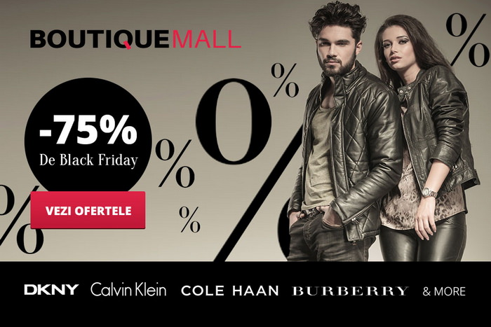 Black Friday 2015 la Boutique Mall