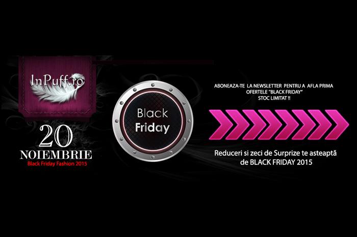 Black Friday 2015 la InPuff