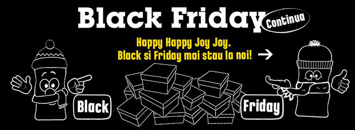 Black Friday 2015 Originals continua