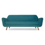 Canapea fixa cu 3 locuri Rizzo Turcoaz