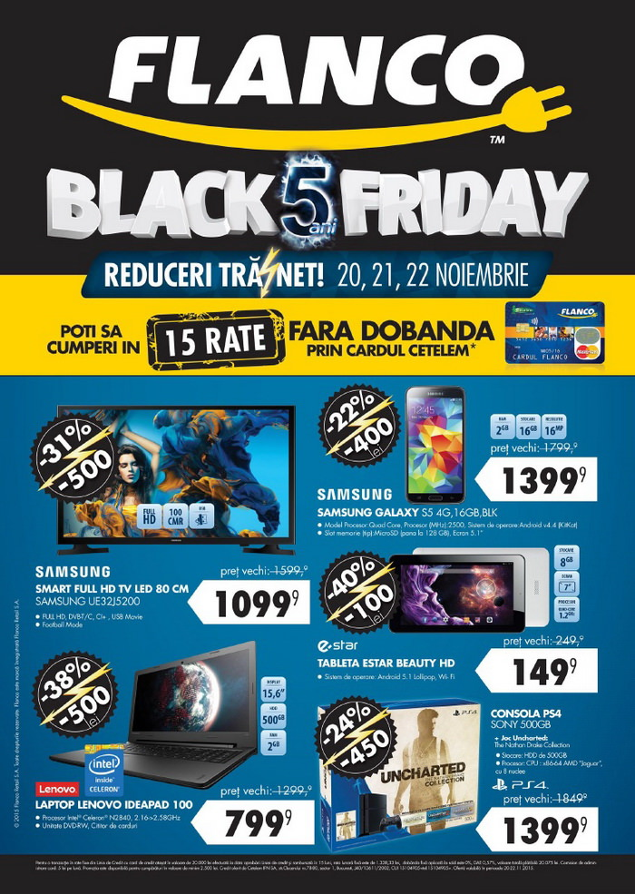catalog flanco black friday 2015 pagina 1
