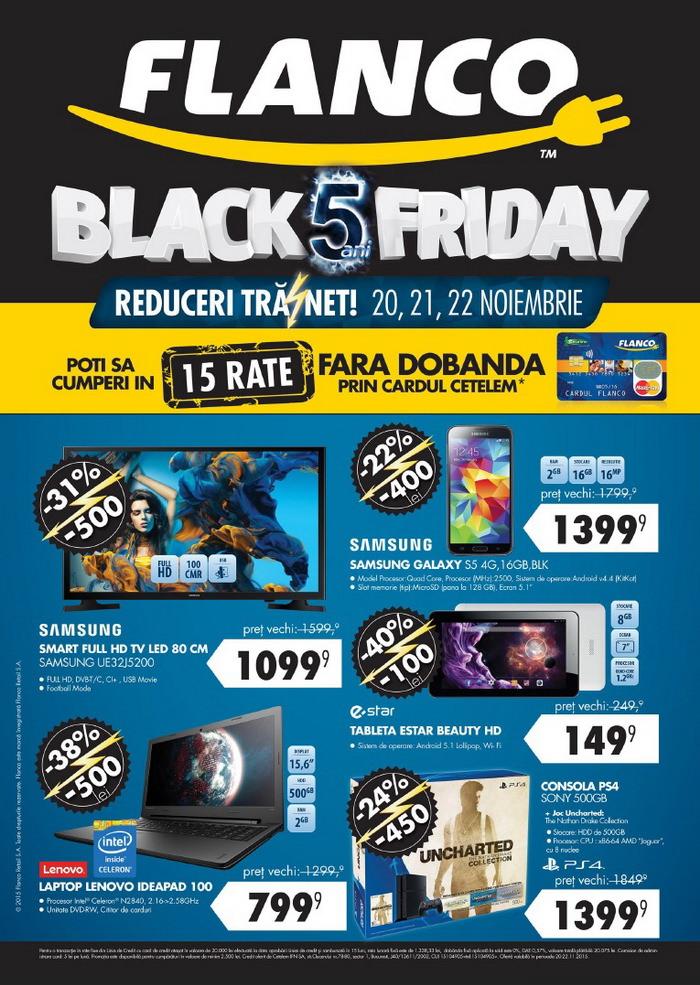 catalog flanco black friday 2015 pagina 1