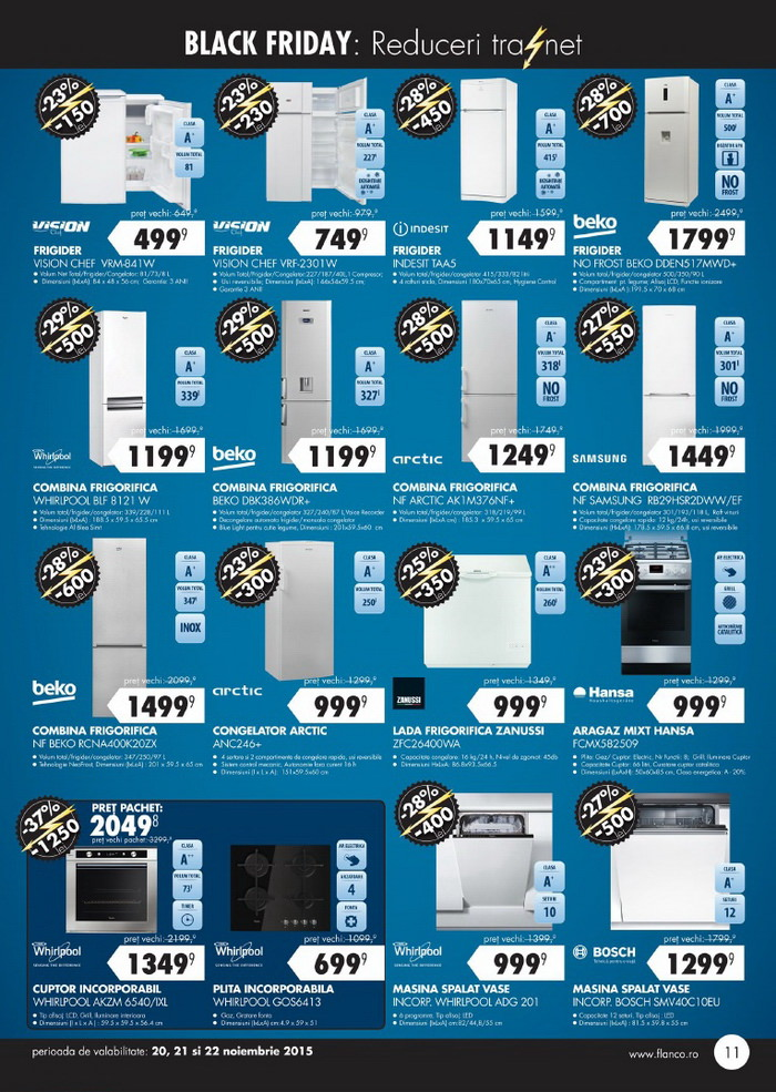 catalog flanco black friday 2015 pagina 11