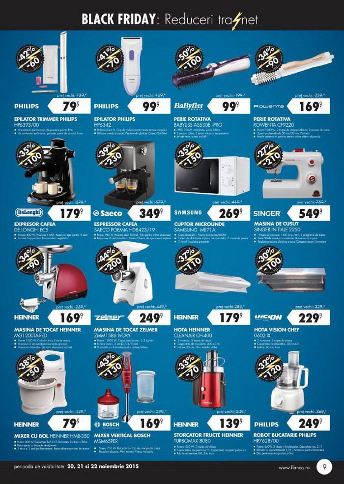 catalog flanco black friday 2015 pagina 9