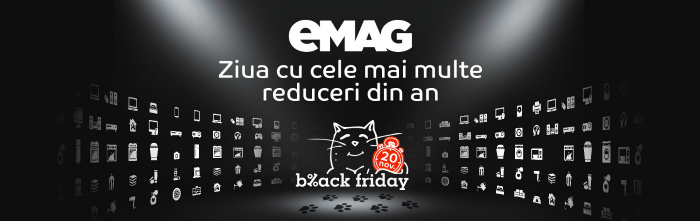 Cele mai multe reduceri din an Black Friday 2015 eMAG