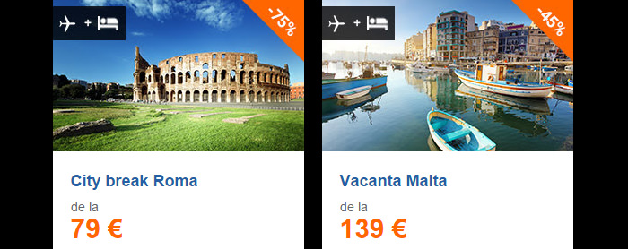 Oferte City Break vacante Vola Black Friday 2015