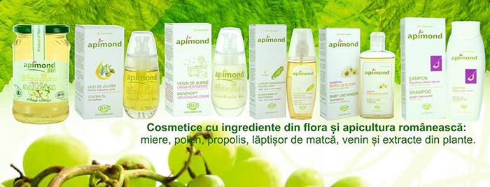 Cosmetice naturale Apimond