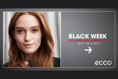 Black Week 2015 la Ecco