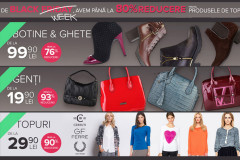 Reduceri la FashionUP! de Black Friday 2015 prin Black Week