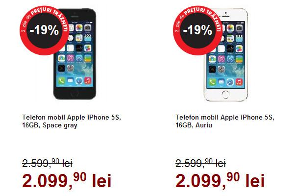 iPhone 5S Black Friday 2014 Flanco