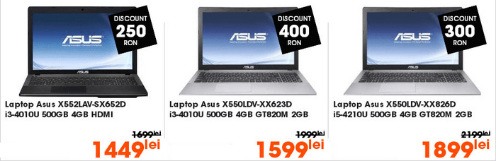 Laptopuri Black Friday 2014 CEL.ro