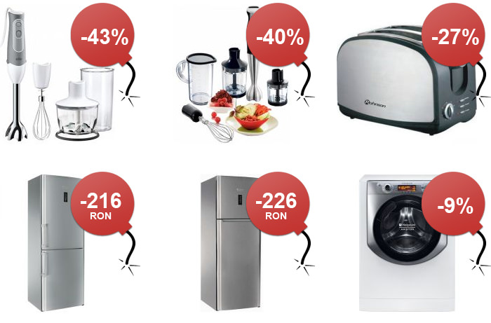 Oferte electrocasnice Black Friday 2014 MarketOnline
