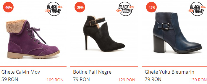 Incaltaminte sezon rece dEpurtat Black Friday 2015