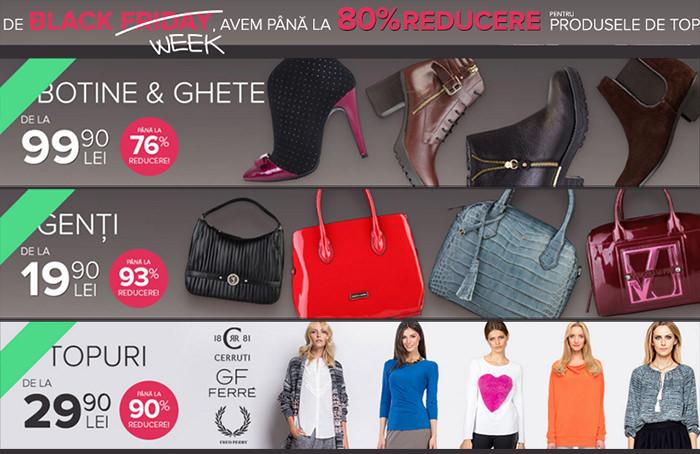 Reduceri FashionUP! Black Week 2015