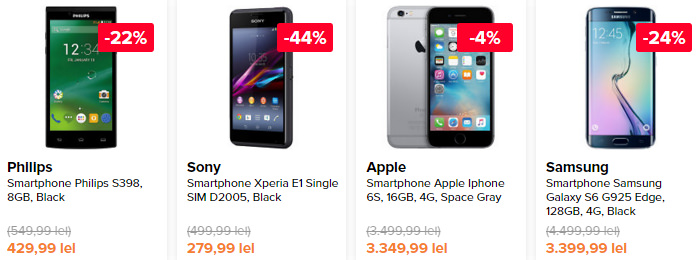 Smartphones Black Friday 2015 Elefant