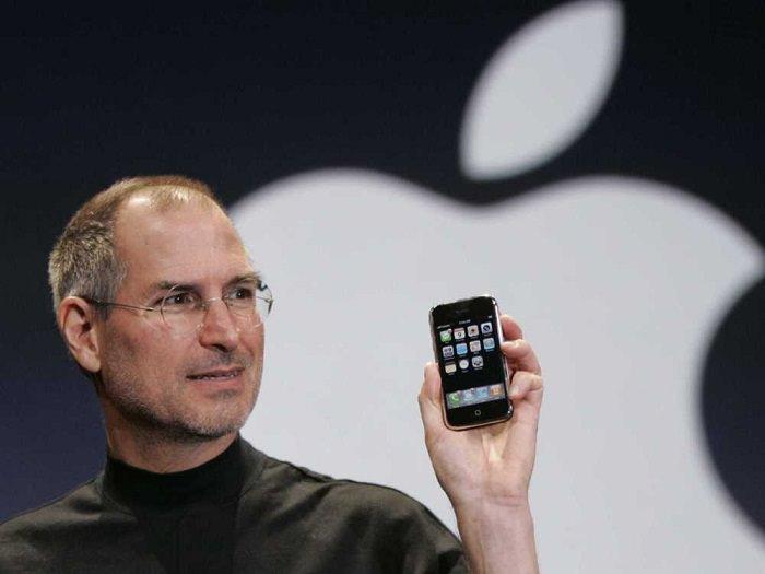 Steve Jobs Apple iPhone 2007