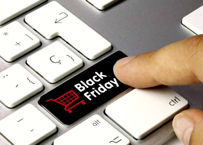 Black Friday pe tastatura