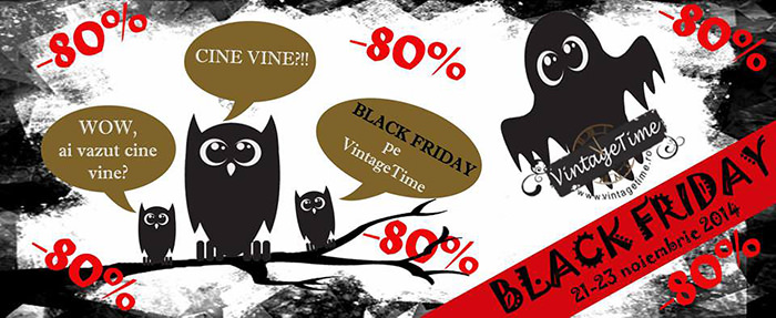 VintageTime Black Friday 2014