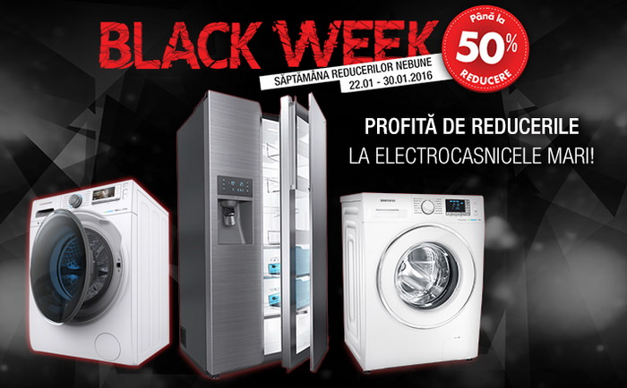 flanco black week electrocasnice mari