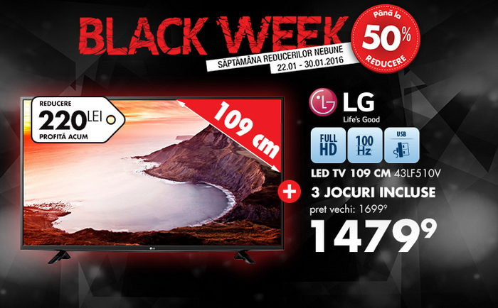 flanco black week televizor