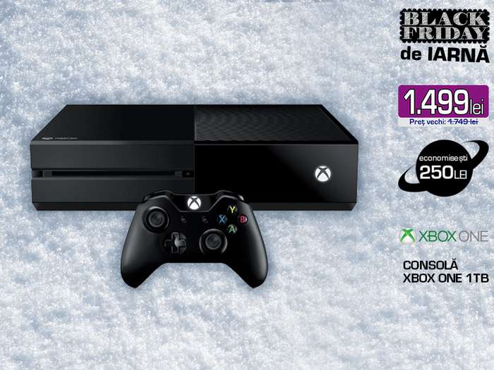 consola xbox media galaxy black friday iarna 2016