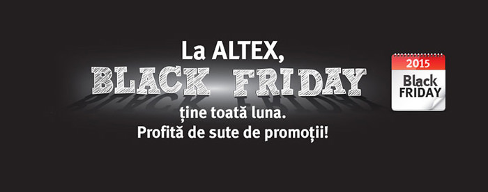Altex campanie Black Friday 2015