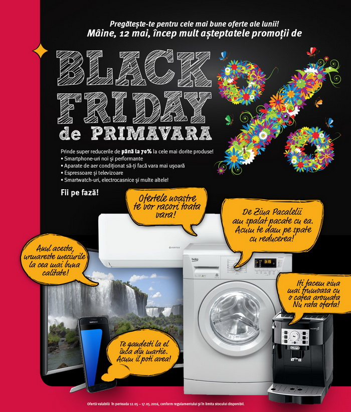 black friday de primavara la altex mai 2016