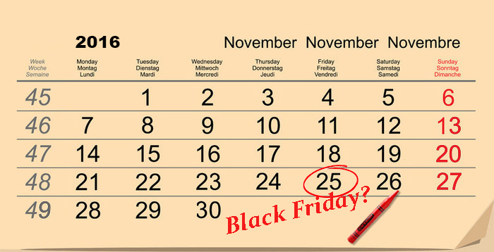 Cand e Black Friday 2015 Romania