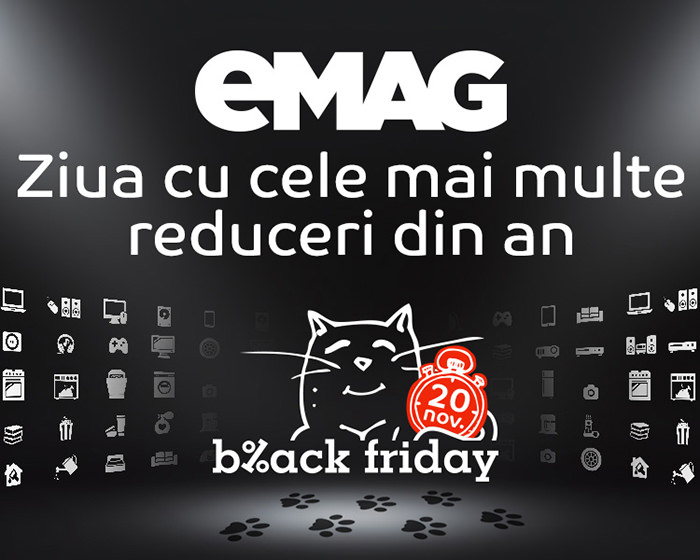 Reduceri mari Black Friday eMAG