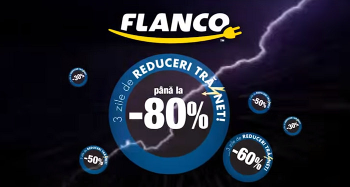 Reduceri trasnet Black Friday Flanco