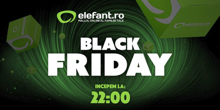 Start Black Friday Elefant
