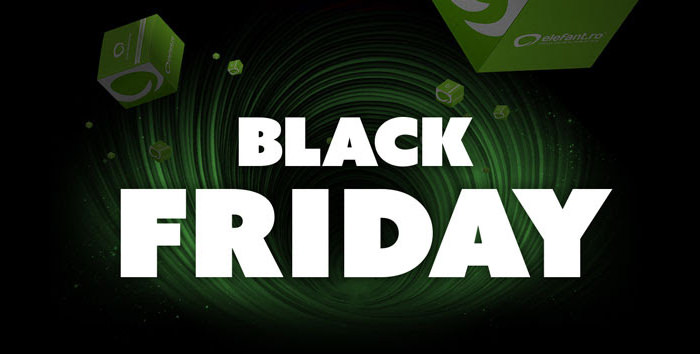 Banner Black Friday Elefant
