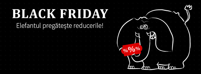 Black Friday 2016 Elefant