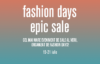 Fashion Days Epic Sale: reduceri ca de Black Friday