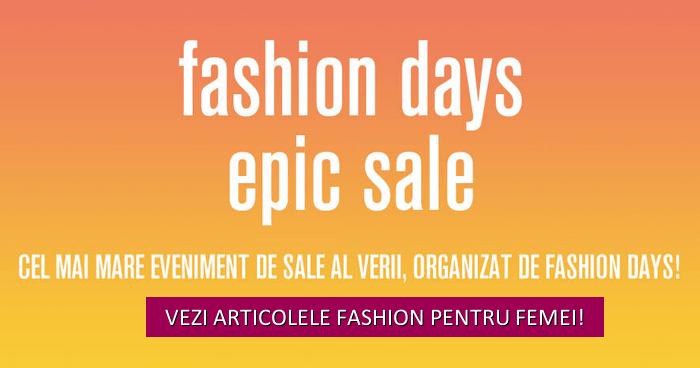 fashion days epic sale articole femei