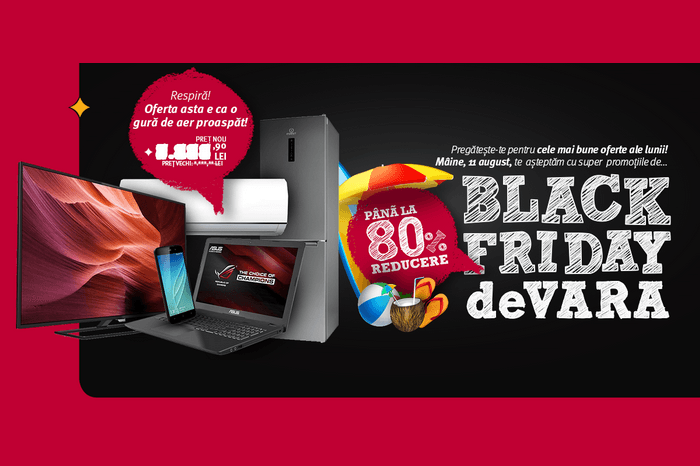 black friday 2016 de vara altex