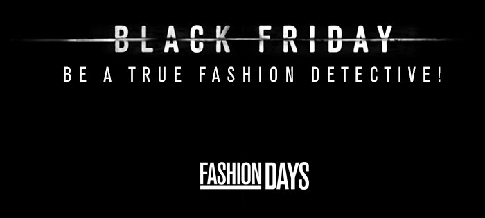 Black Friday 2015 Fashion Days
