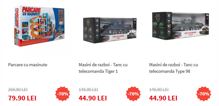 Masinute Noriel Black Friday 2015