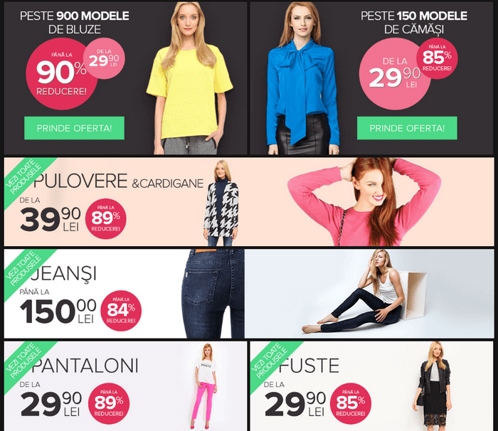 oferte fashionup black friday 2015